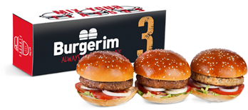 Three Mini Burgers 3burgers
