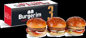 Three Mini Burgers 3burgers