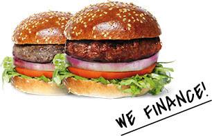 Mini burgers with