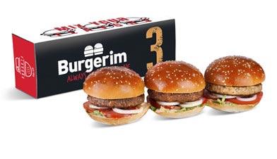 Burger 3 Pack - Burgerim Baldwin Park
