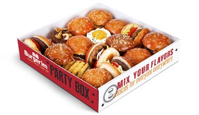 Party Box with 16 Burgers - Burgerim Baldwin Park