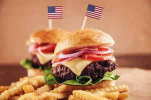 Different types of gourmet burgers you can serve at a barbeque