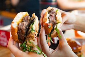 Free burgers being given away for free in Montclair