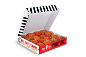 Burgerim Box of 16 Mini Burgers